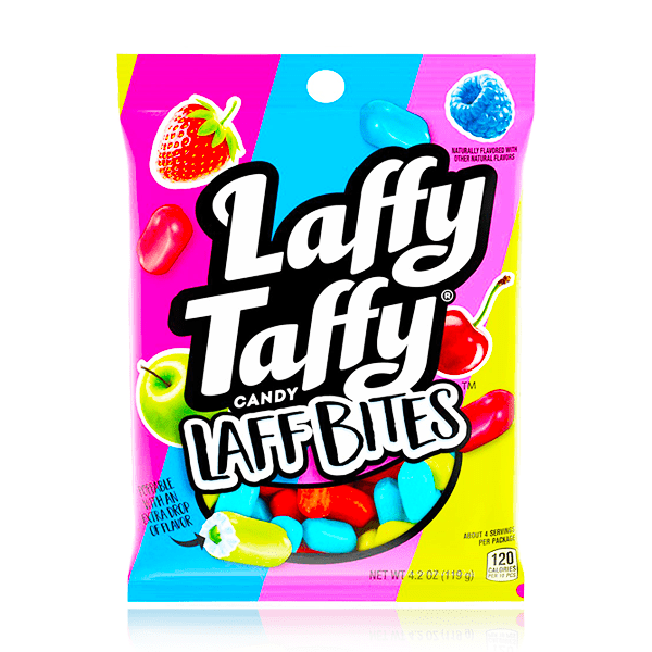 LAFFY TAFFY LAFF BITES PEG BAG 119g