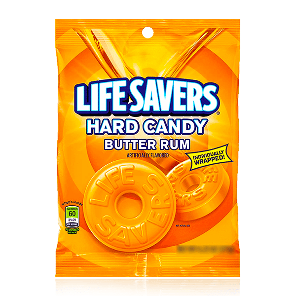 LIFESAVERS BUTTER RUM BAG 91g