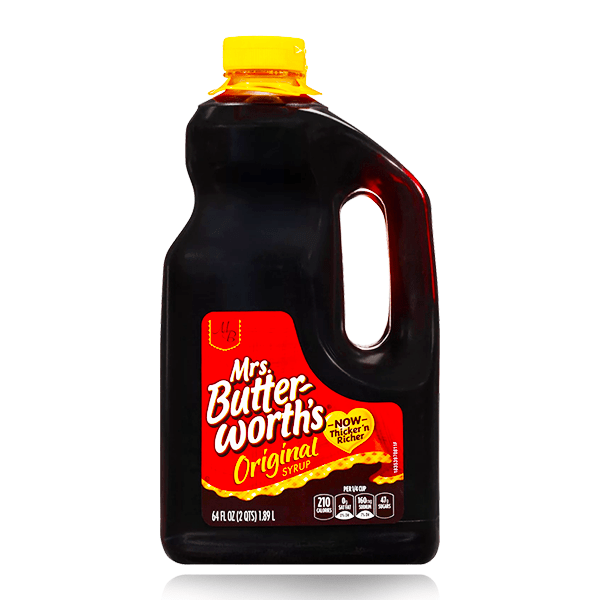MRS BUTTERWORTH'S ORIGINAL SYRUP XXL 1.89L