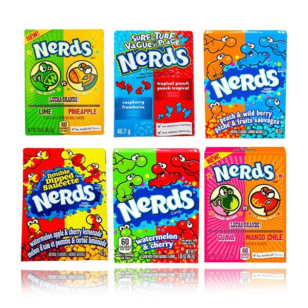 NERDS CANDY BOXES ASSORTED FLAVOURS