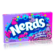 NERDS STRAWBERRY & GRAPE THEATRE BOX 141G 12 PACK