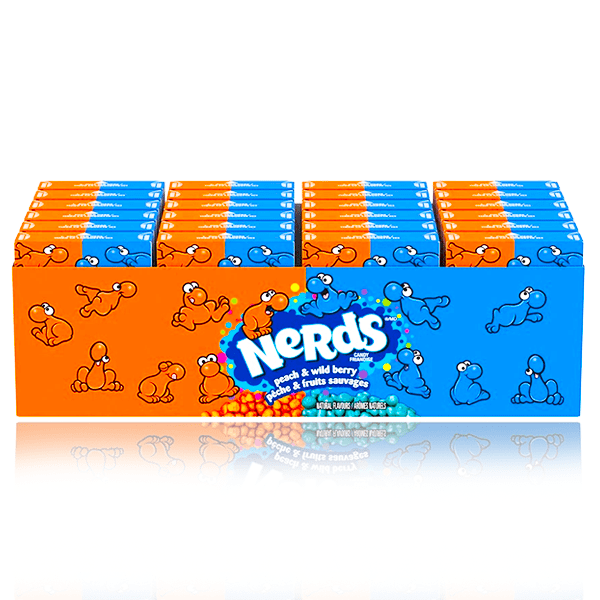 NERDS PEACH WILDBERRY 46.7g 24 PACK