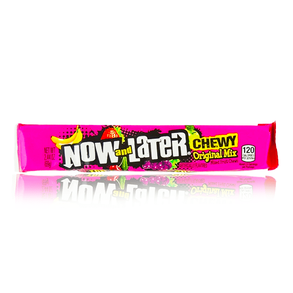 NOW & LATER ORIGINAL CHEWY MIX STICK 69G - DATED