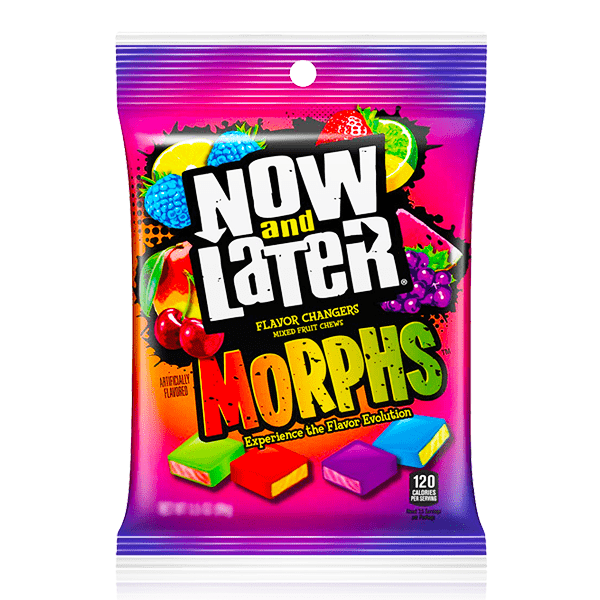 NOW & LATER MORPHS PEG BAG 170G