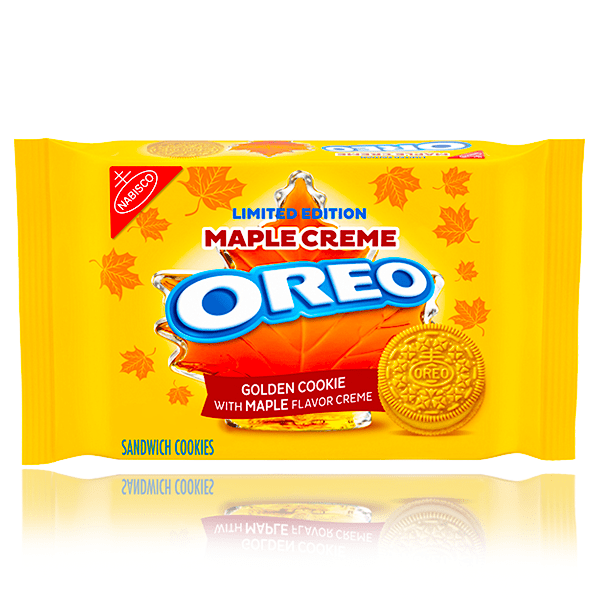 OREO MAPLE CREME LIMITED EDITION 345G