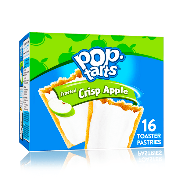 POPTARTS FROSTED CRISP APPLE 16 COUNT