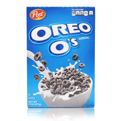 POST OREO O'S CEREAL 538g DATED