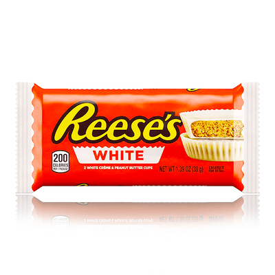 REESE'S PEANUT BUTTER CUPS WHITE CHOCOLATE 42g
