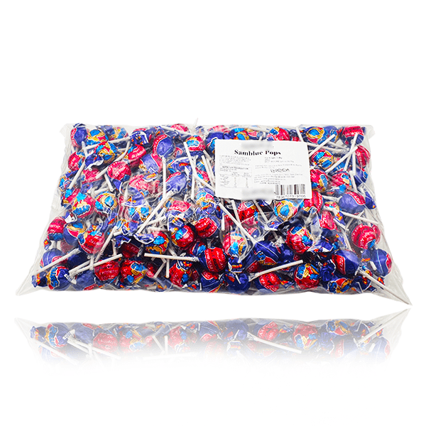 SAMBLUE POPS LOLLIPOPS BAG 200 PIECES 2.4kg