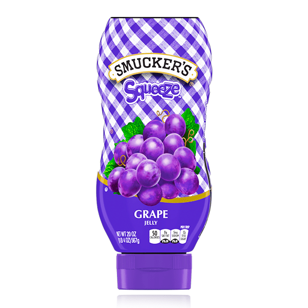 SMUCKERS SQUEEZE JELLIES ASSORTED FLAVOURS
