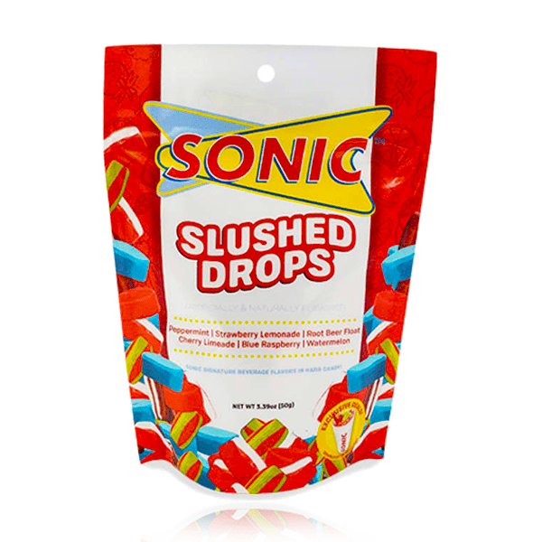 SONIC SLUSHED DROPS PEG BAG 96G