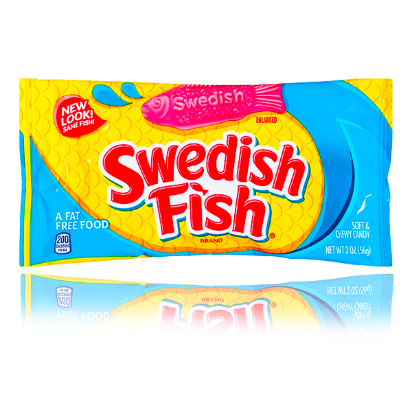 SWEDISH FISH MINI BAG 56G