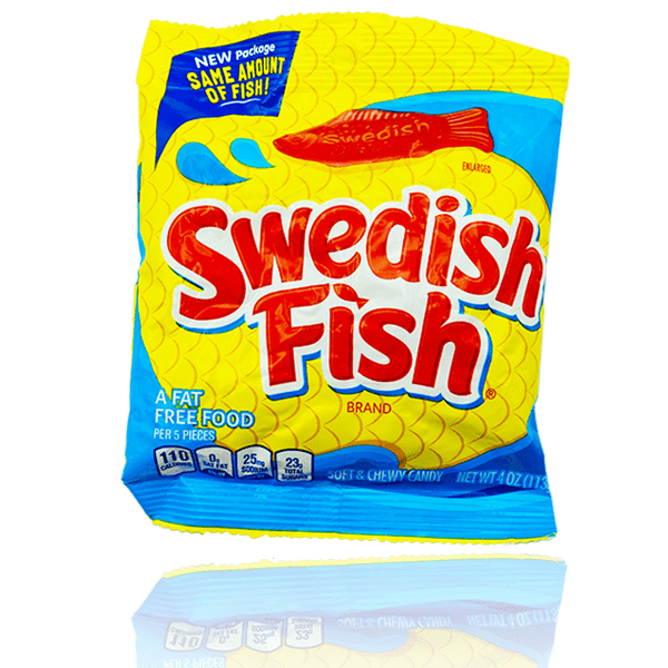 SWEDISH FISH PEG BAG 113G