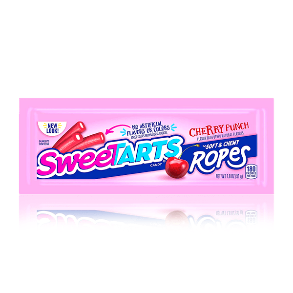 SWEETARTS SOFT & CHEWY ROPES CHERRY PUNCH 51g