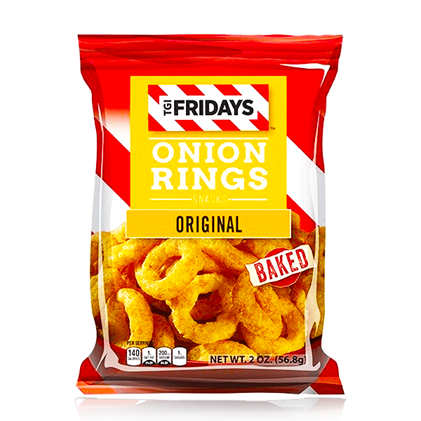 TGI FRIDAY'S ASSORTED FLAVOURS SNACKS