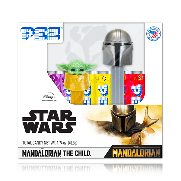 THE MANDALORIAN PEZ CANDY GIFT SET