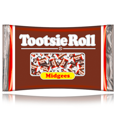 TOOTSIE ROLL MIDGEES 300 PIECES 945G BAG