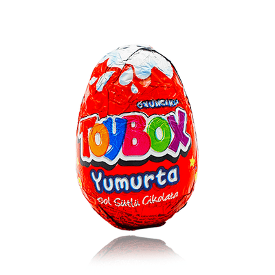 TOYBOX CHOCOLATE EGG WITH TOY INSIDE 20g