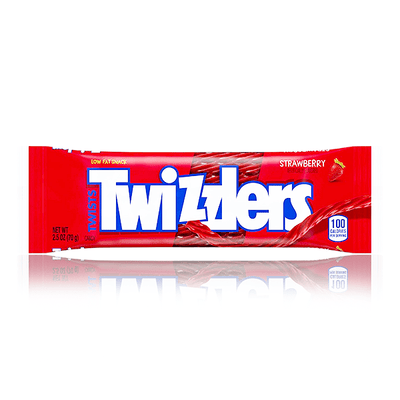 TWIZZLER TWISTS STRAWBERRY PACKET 70g