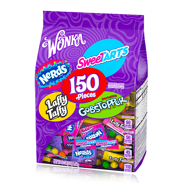 SWEETARTS NERDS LAFFY TAFFY & GOBSTOPPERS ASSORTMENT 150ct