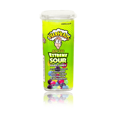 WARHEADS EXTREME SOUR MINI HARD CANDY
