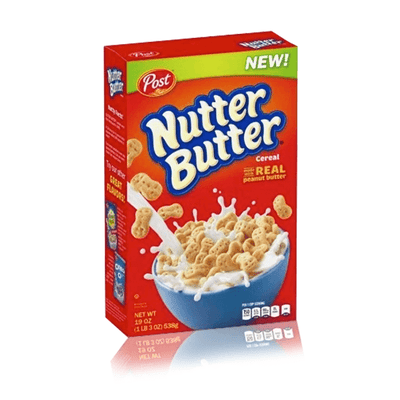 POST NUTTER BUTTER CEREAL 311g DATED