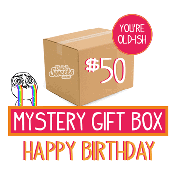 HAPPY BIRTHDAY MYSTERY GIFT BOXES