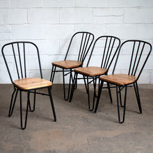 Giordano Chairs - Matt Black