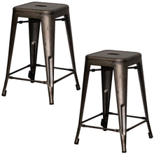 Terni Bar Stool - Gun Metal Grey