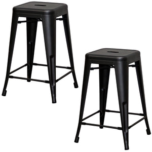Terni Bar Stool - Onyx Matt Black