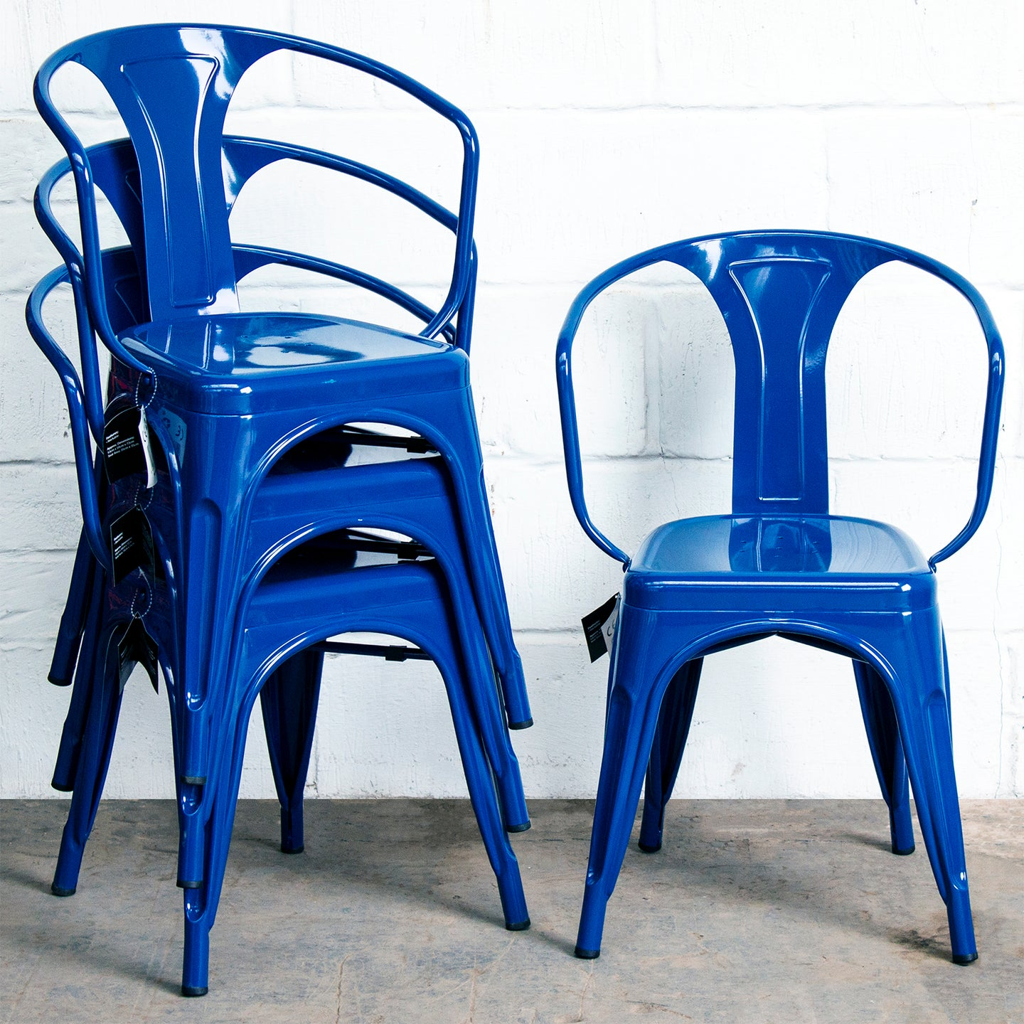 Forli Chair - Marine Blue