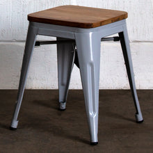 Rho Bar Stool - Pale Grey