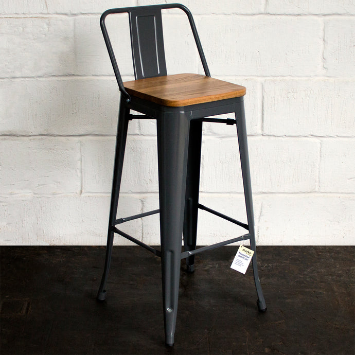 Tuscany Bar Stool - Graphite Grey
