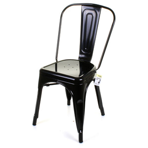 5PC Enna Table Forli & Siena Chairs Set - Black