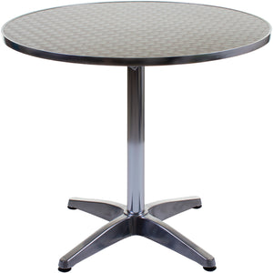 Jacmel Round Chrome Table