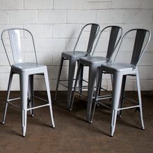 Pascale Bar Stool - Pale Grey