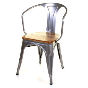 Florence Chair - Silver