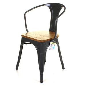 Florence Chair - Graphite Grey