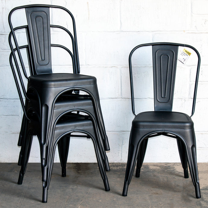 Siena Chair - Onyx Matt Black