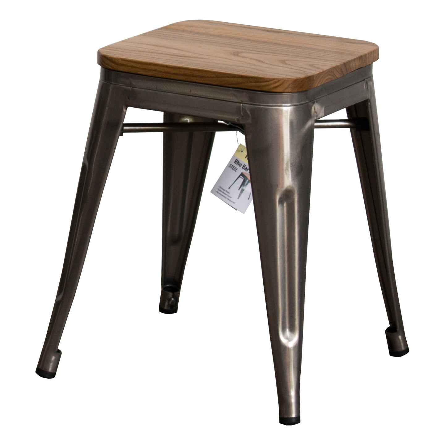 Rho Bar Stool - Steel