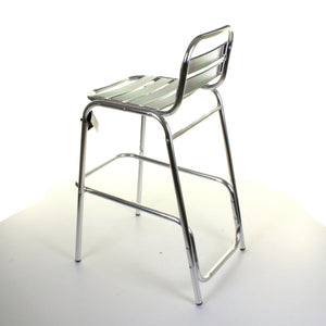 Carpi Chrome Bar Stool