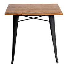 3PC Enna Table & Rho Stool Set - Graphite Grey