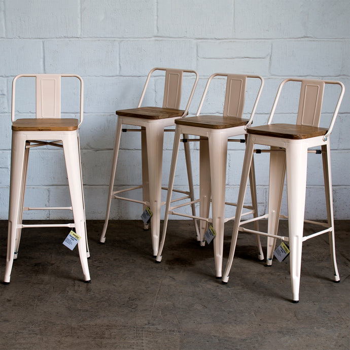 Tuscany Bar Stool - Cream
