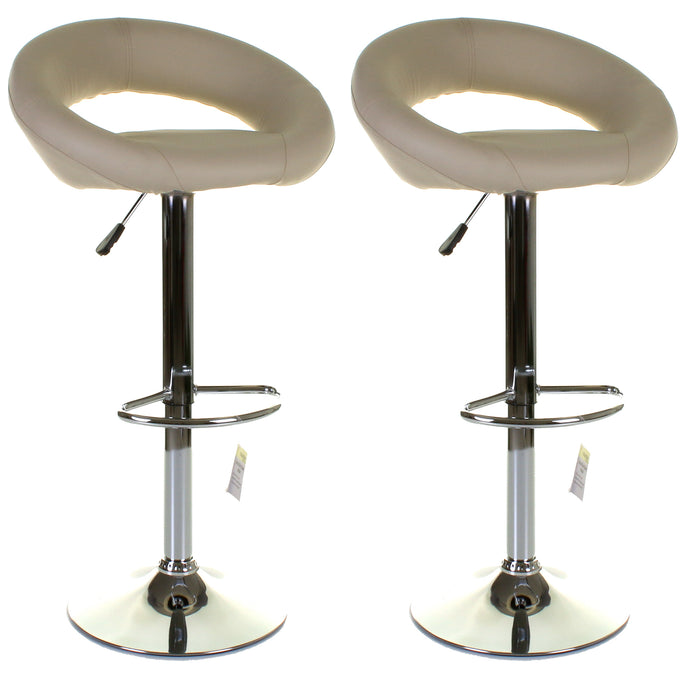 Lecce Bar Stool - Cream - Set of 2