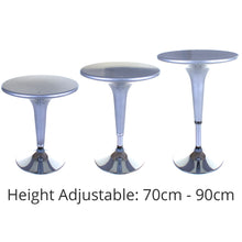Boss Bar Table - Silver