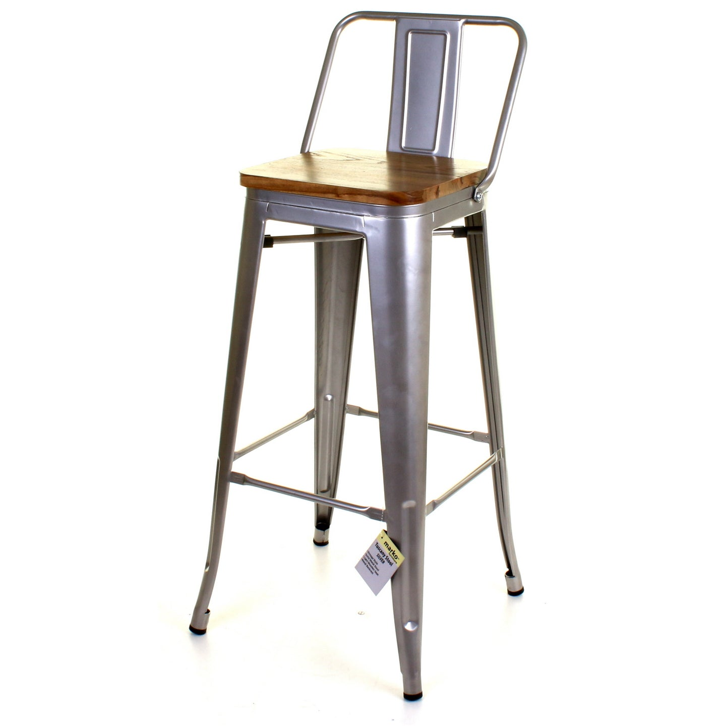 Tuscany Bar Stool - Silver