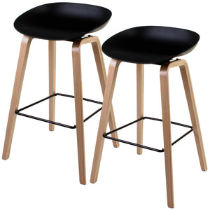 Benevento Bar Stool - Black - Set of 2