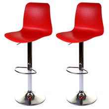 Savona Bar Stool - Red - Set of 2