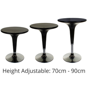 Boss Bar Table - Black