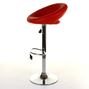 Lecce Bar Stool - Red - Set of 2